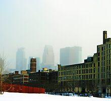 minneapolis fog by Lynne Prestebak