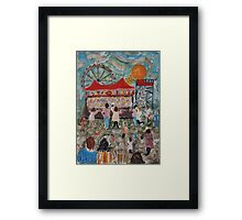 Amusement Park Framed Print