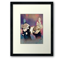 The Web Detectives Framed Print