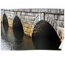 The Bridge Arches  Poster