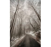Road to Winter Photographic Print