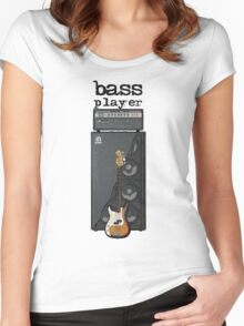 Bass Player Women's Fitted Scoop T-Shirt