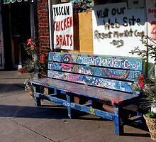 Market Bench by wiscbackroadz