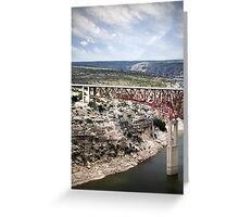 Spanning the Rio Grande Greeting Card