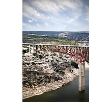 Spanning the Rio Grande Photographic Print