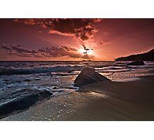 Bursting Sunrise! Photographic Print