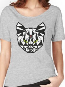 Crystal Cat - Pink Women's Relaxed Fit T-Shirt
