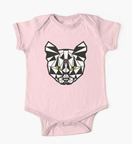 Crystal Cat - Pink One Piece - Short Sleeve