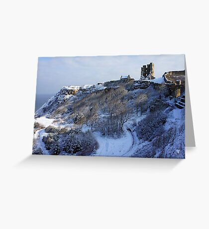 Scarborough Castle Greeting Card