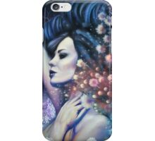 Indigo Child - Surreal Woman in Field with Flying Fish iPhone Case/Skin