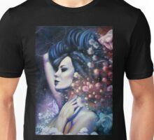 Indigo Child - Surreal Woman in Field with Flying Fish Unisex T-Shirt
