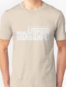 Girls Tweark, Real Women Headbang T-Shirt