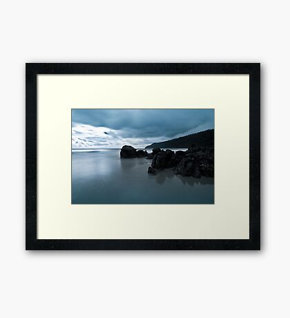 Calm Morning Sea Framed Print