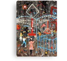 Fun by Night Canvas Print
