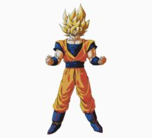 Dragon ball Z: Super Saiyan Goku design by kevinlartees