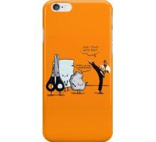 Stone, paper and scissor iPhone Case/Skin