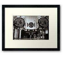 Arcade, Melbourne Framed Print