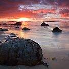 Taroona Beach Sunrise #9 by Chris Cobern