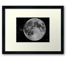 My Full Moon © Framed Print