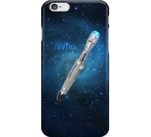 IWho - Sonic Screwdriver iPhone Case/Skin