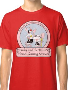 Pinky and the Brain Home Cleaning Classic T-Shirt