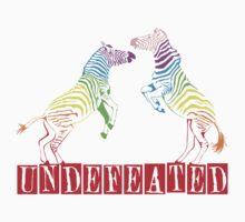 Zebras Undefeated Rainbow by David & Kristine Masterson
