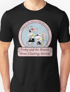 Pinky and the Brain Home Cleaning Distressed T-Shirt