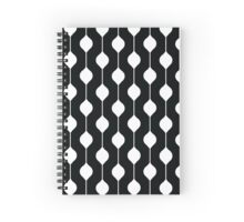 The Droplet - Contrast Spiral Notebook