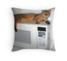 Kumari - Spotted Bengal cat Throw Pillow