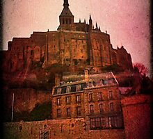 Mont Saint Michel by Ellissa