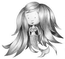 Mermaid Sketch by Beth Thompson