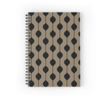 The Droplet - Brown Spiral Notebook