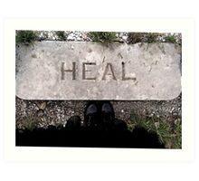 heal Art Print