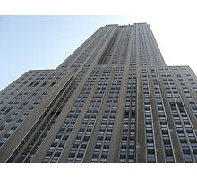 Empire State Building Detail Photographic Print