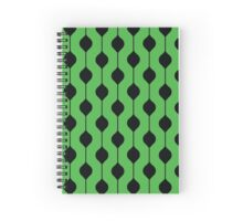The Droplet - Green Spiral Notebook