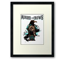 Murder of Crows Vigor Framed Print
