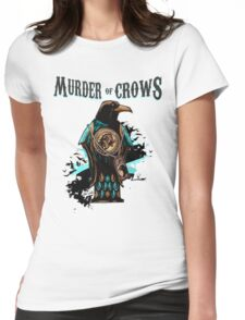 Murder of Crows Vigor Womens Fitted T-Shirt