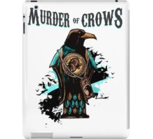 Murder of Crows Vigor iPad Case/Skin