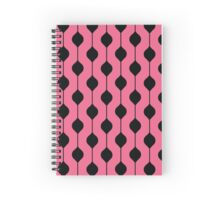 The Droplet - Pink Spiral Notebook