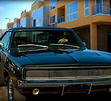 """1968 Dodge Charger """"Bullit Replica"""" by TeeMack"""