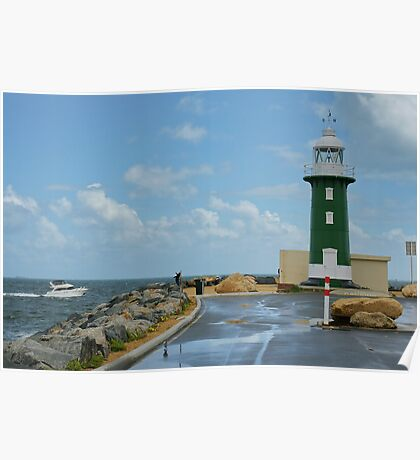 South Mole Lighthouse Poster