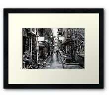 "Melbourne Degraves St "" Surreal ST series ""  Framed Print"