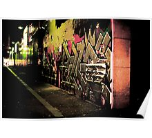 Graffiti Overload Poster