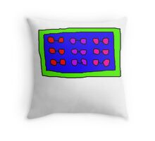Really Old Glasses Throw Pillow