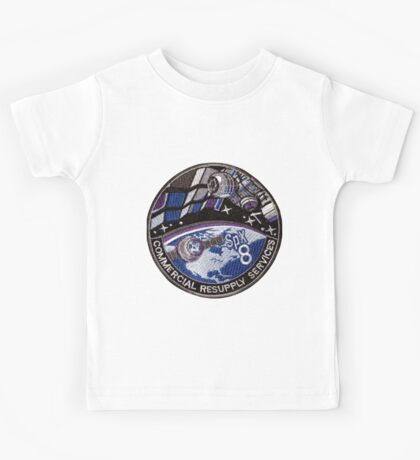 CRS-8 (SpX-8) Mission Patch Kids Tee