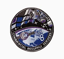 CRS-8 (SpX-8) Mission Patch Unisex T-Shirt