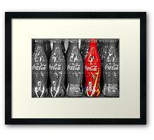 World Cup Coke Copy Framed Print