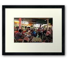 LA Farmers Market Framed Print