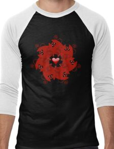 CATX7 Men's Baseball ¾ T-Shirt