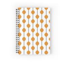 The Droplet Lite - Orange Spiral Notebook